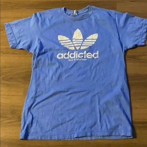 Addicted Blue T-Shirt